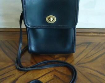 Vintage Coach Black Scooter Bag 9893 d3e95220838d1