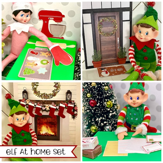 On Sale Elf AT HOME Activities  DIY Printable Page Files