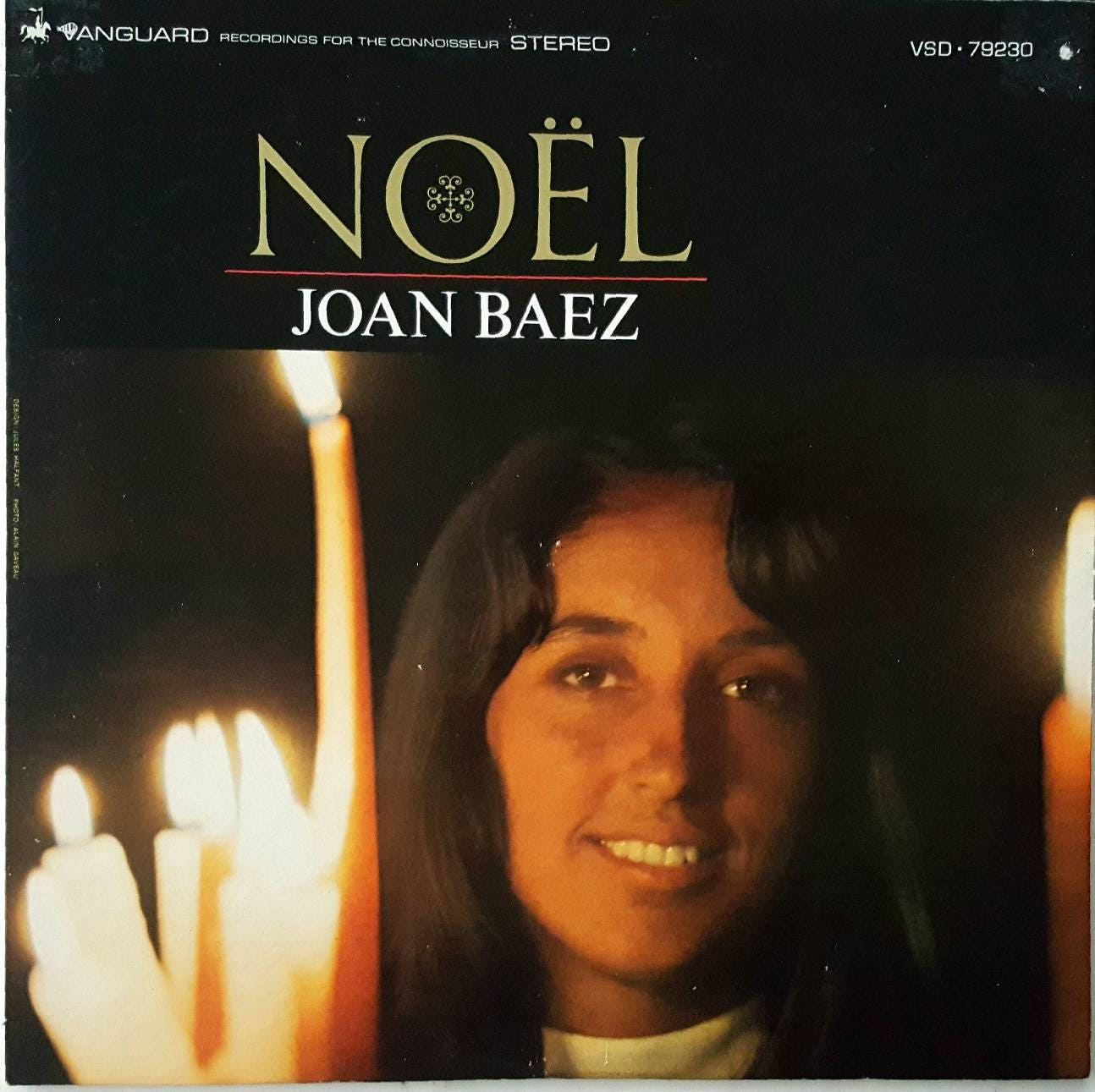 Vintage Christmas album: Noel by Joan Baez. | Etsy