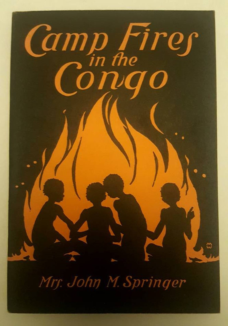 Vintage adolescent book: Camp Fires In The Congo  1928