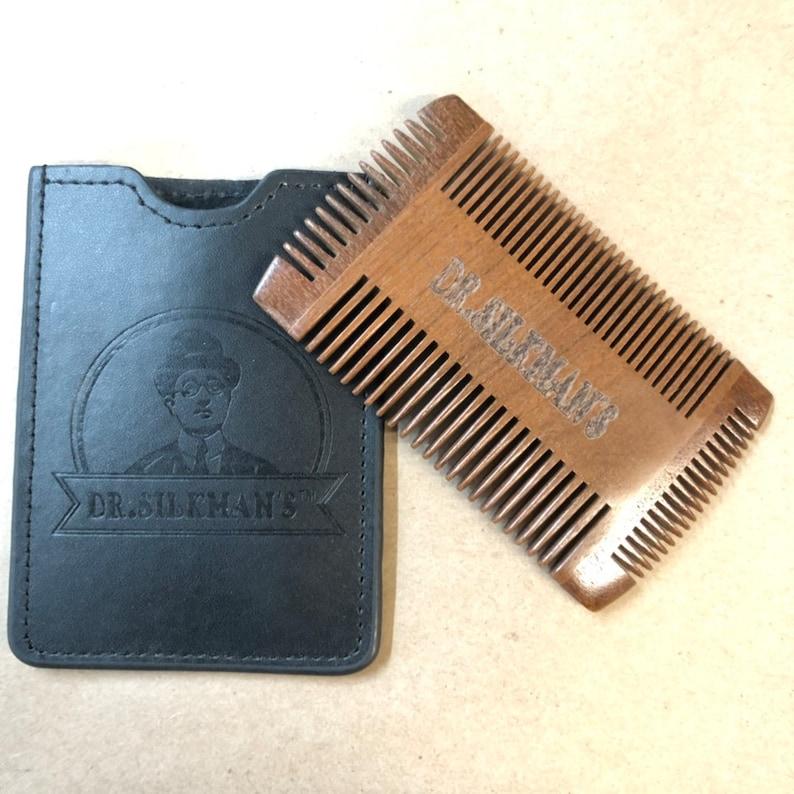 4 Sided Beard/ Mustache Comb image 0