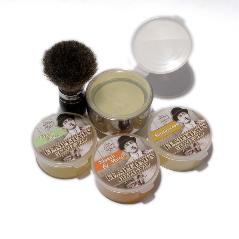 All Natural Shave Soap Choose From 4 Scents image 0
