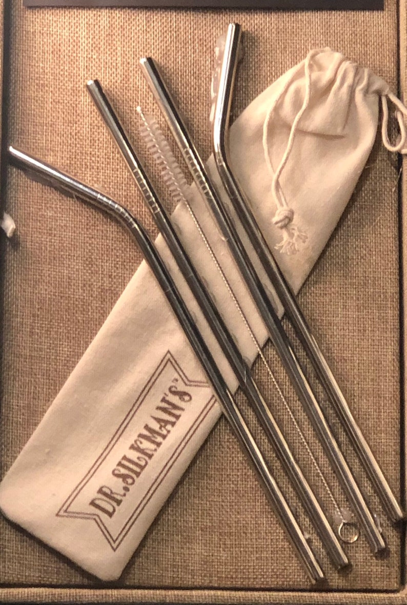 Stainless Steel Straw Sets image 0