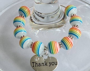 Set of Marble Thank You Gift Box+Gift Bag Empty for Jewelry Necklace Bracelet