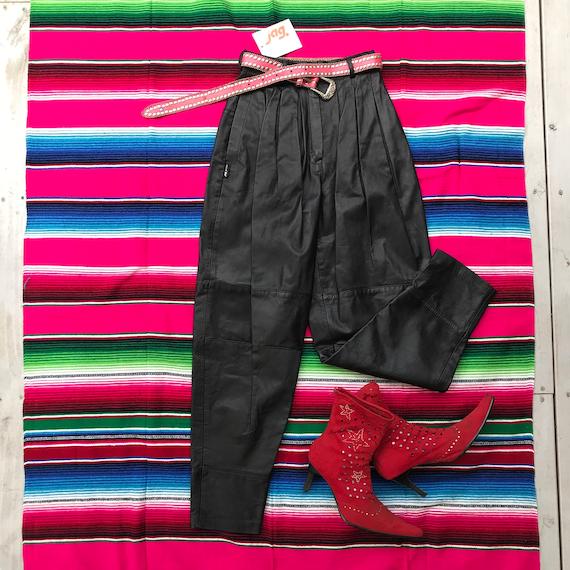Killa 80s JAG deadstock leather pants.  XSmall