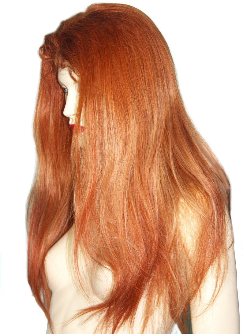 Full Lace Thin Skin Wig Silk Top Human Hair Indian Remi Remy Etsy