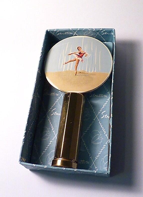 Stratton ballet compact mirror rare Stratton balle