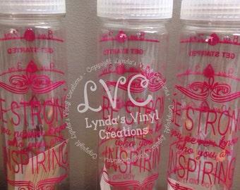 Water Bottle Inspiration