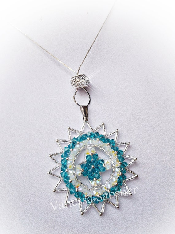 Ciondolo Soledad Blue Zircon  3a194b548f
