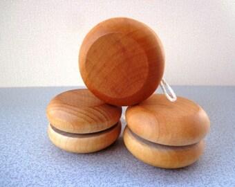 Wood YO-YO - Party Favor - Hand Polished - All Natural - Eco Friendly Kids Toy