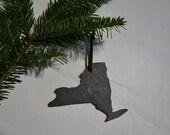 New York Slate Ornament - New York State Wedding Favor