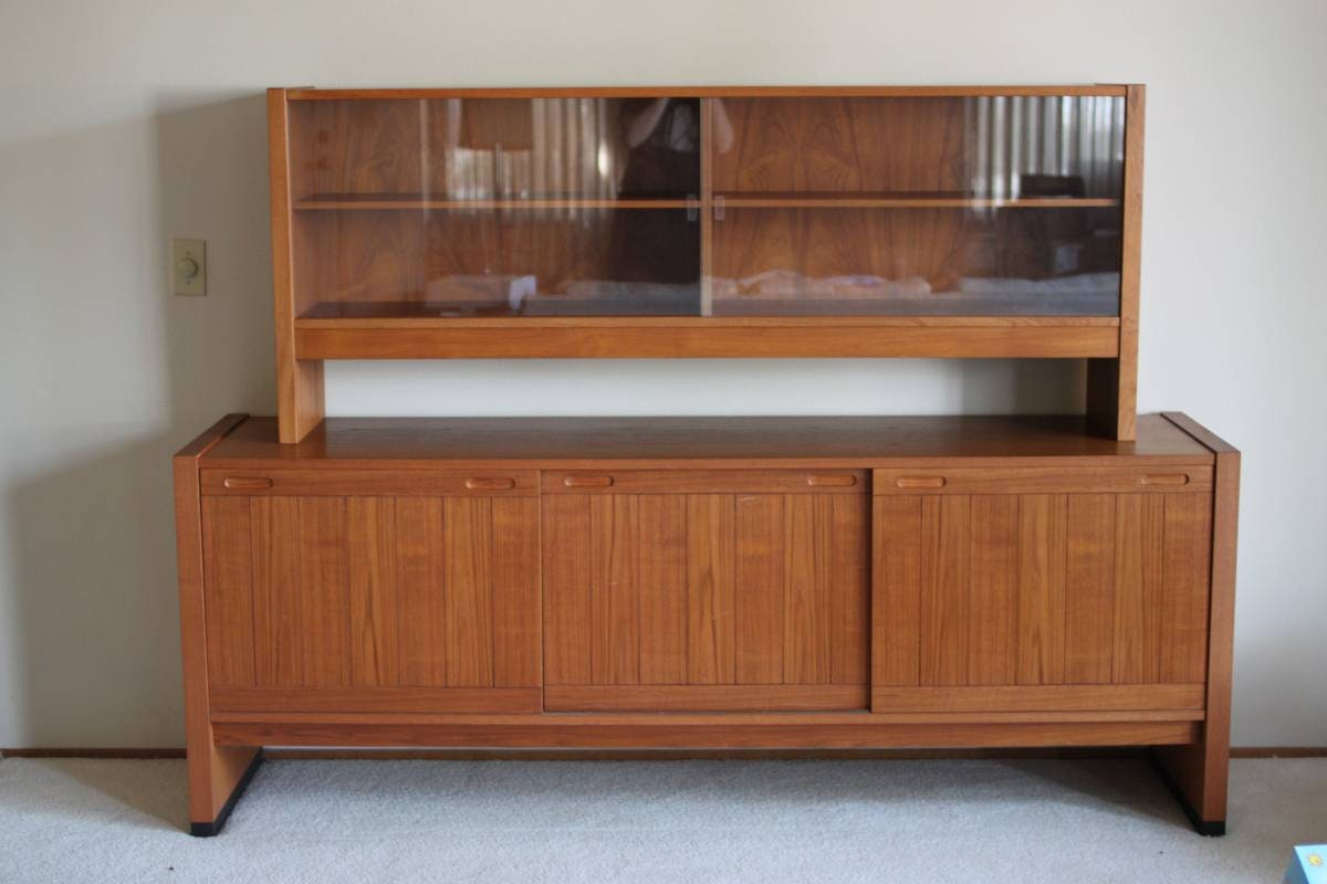 Danish Modern Buffet Credenza : Buffet credenza beautiful danish modern teak