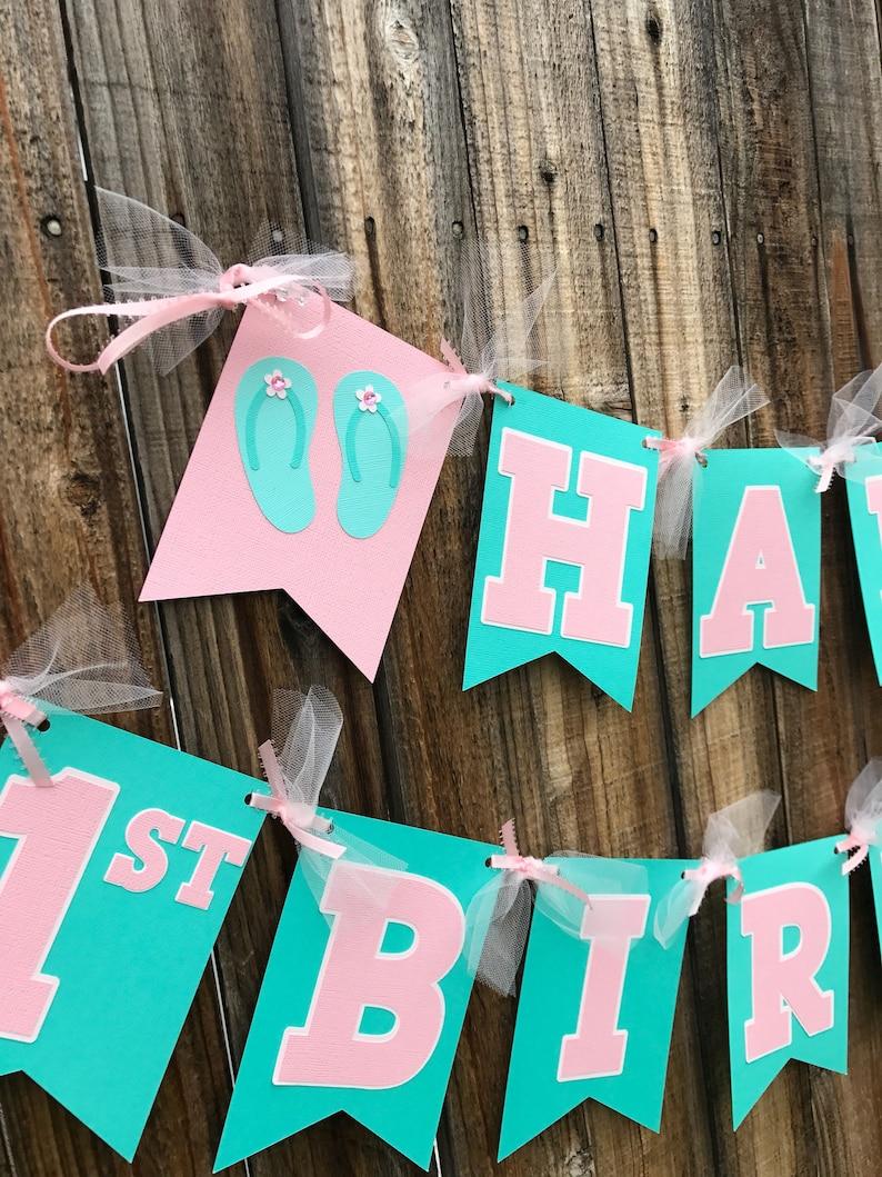 Beach Happy Birthday Party