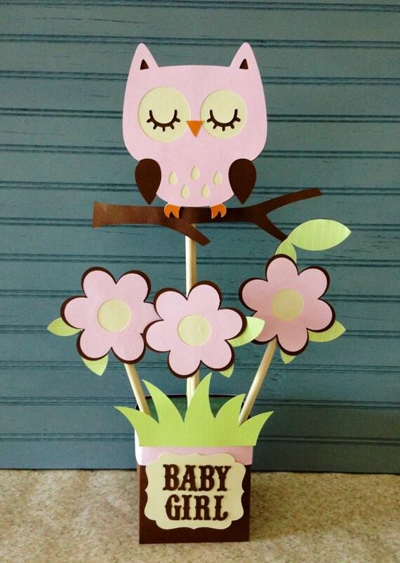 Strange Owl Baby Shower Centerpiece Interior Design Ideas Skatsoteloinfo