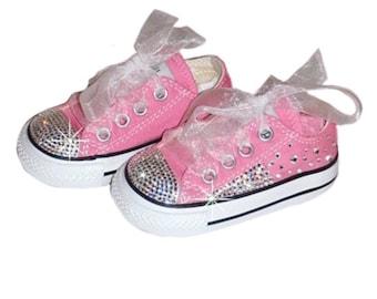 9444f0b19065e4 Pink Crystallized Converse