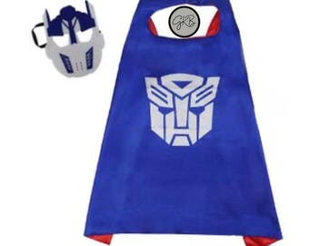 Transformer Robot Cape & Mask Set