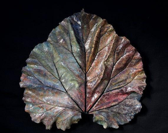 Sirjana – Large Leaf Casting – Art From the Garden