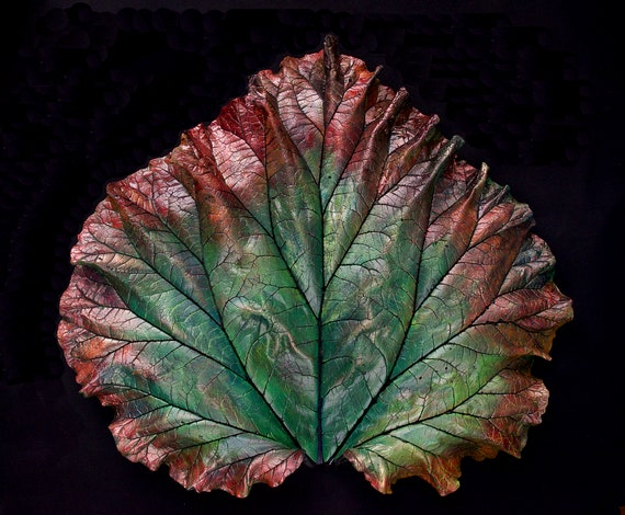 Celebrant – Large Leaf Casting – Art From the Garden