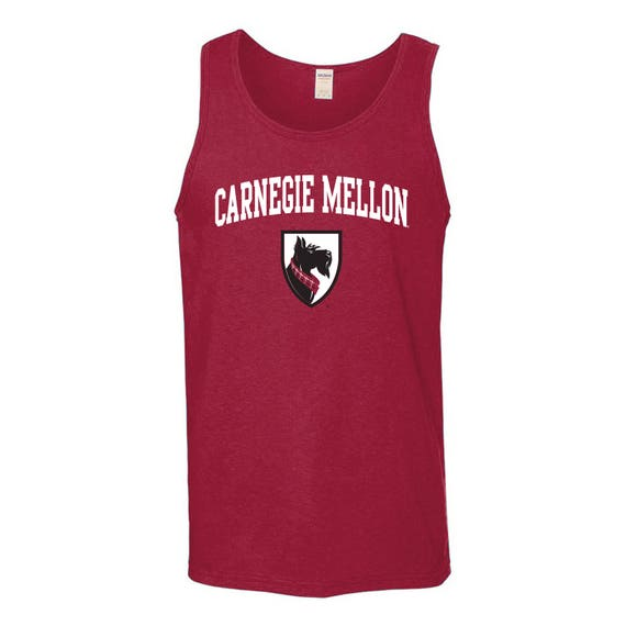 pretty nice 4bad8 fb018 Carnegie Mellon Tartans Arch Logo Tank Top - Cardinal Red