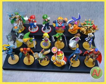 Three Tier Amiibo Stand that can hold 18 Amiibo's