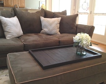 Handmade Oversize Ottoman Tray / Table Top / Great Gift