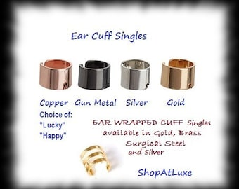 Ear Cuff Single - Choice Of Color