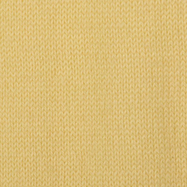 Large Kasha de Rodier 1980s Lightweight Cream Mockneck Sweater