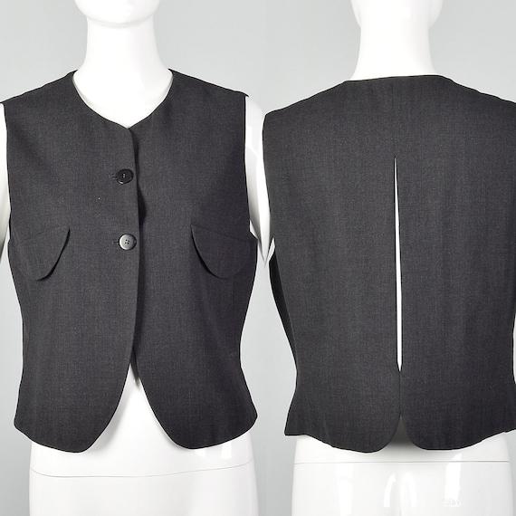 Medium Giorgio Armani 1990s Avant Garde Vest 90s M