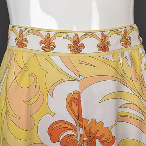 60s Emilio Pucci Cotton Pucci Suit Pucci Print 60… - image 9