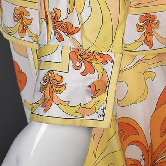 60s Emilio Pucci Cotton Pucci Suit Pucci Print 60… - image 10