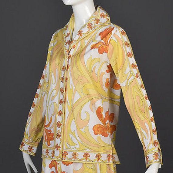 60s Emilio Pucci Cotton Pucci Suit Pucci Print 60… - image 7