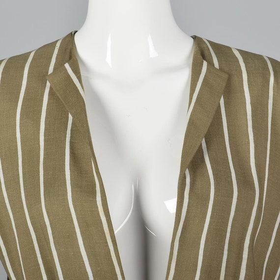 Large Pauline Trigere Skirt Suit Blazer Jacket 19… - image 8