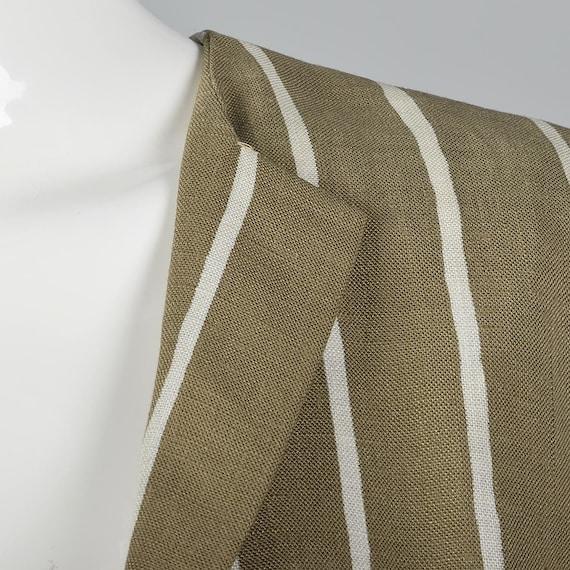 Large Pauline Trigere Skirt Suit Blazer Jacket 19… - image 9