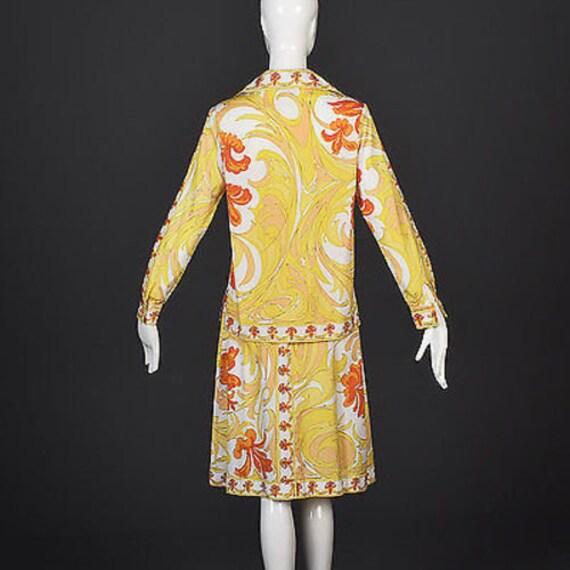 60s Emilio Pucci Cotton Pucci Suit Pucci Print 60… - image 4