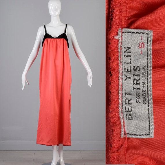 Bert Yelin Nightgown Designer Nightgown 90s Maxi N