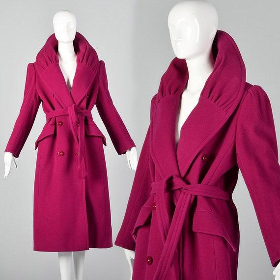 Medium Valentino Miss V 1980s Pink Coat Portrait C