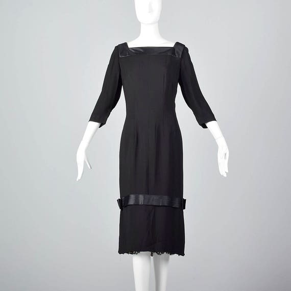 XL 1960s Howard Greer 28 Shop Little Black Dress L