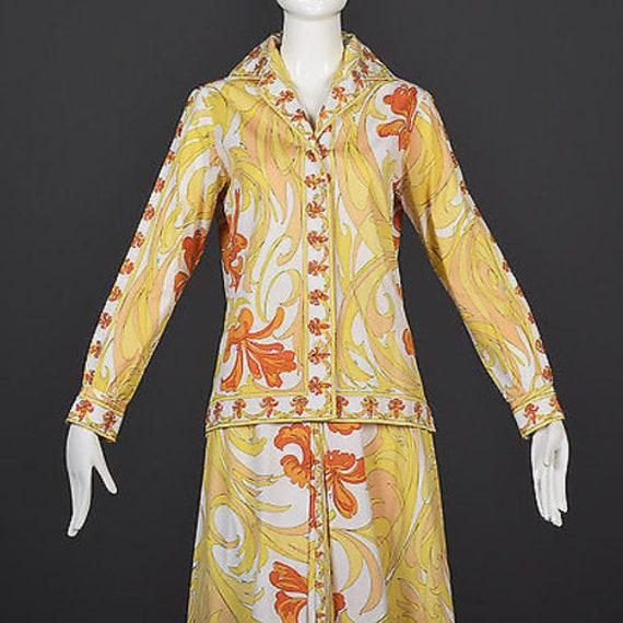 60s Emilio Pucci Cotton Pucci Suit Pucci Print 60… - image 6