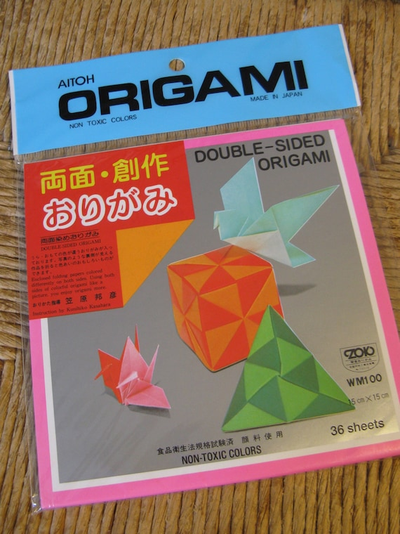 AITOH Double-Sided Origami Paper - 200 Sheets - 5-7/8 in. x 5-7/8 in. - 32  lb. | Crafts & Decorative Papers | Papers & Boards | Art Supplies | Art  Supplies & Crafts | Nasco | 760x570