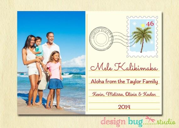 image 0 - Hawaiian Christmas Cards