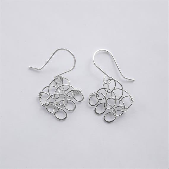 Stitch in Nine Earrings