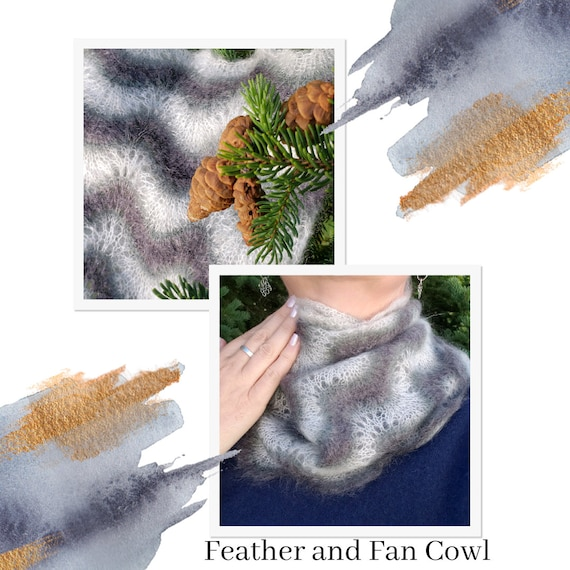 Feather and Fan Cowl - 20% off