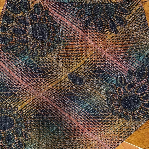 Handmade 1960s/70s Metallic Rainbow Psychedelic S… - image 3