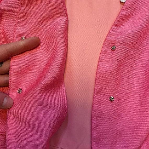 1960s Bubblegum Pink Overcoat - image 3