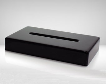 """Display Lighted Base for Photo Crystal, Piano Black Finish,  8 Bright LED White  Lights, 6"""" Wood Base by Goodcount Crystal **Free Shipping"""