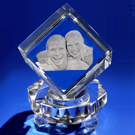 Laser Crystal Personalized Engraving 3D Crystal Cube