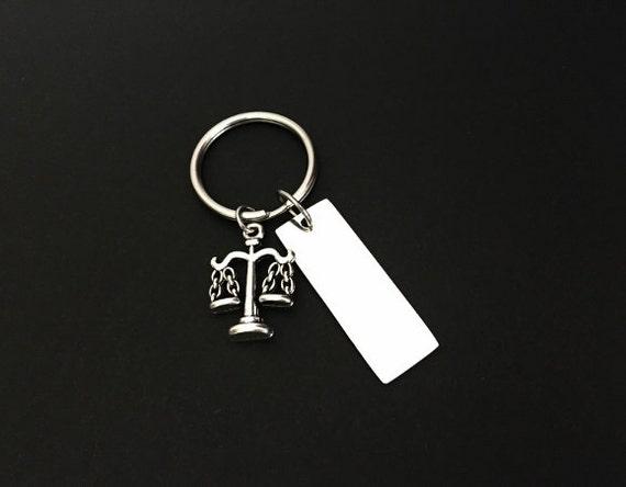 Abogado llavero 3/abogado llavero Escalas de justicia llavero abogado regalo de joyas abogado regalos Escalas de justicia 3/llavero