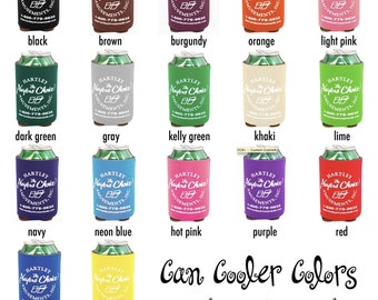 Custom Can Coolers / Beverage Insulators