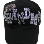 Black Football Grandma Hat