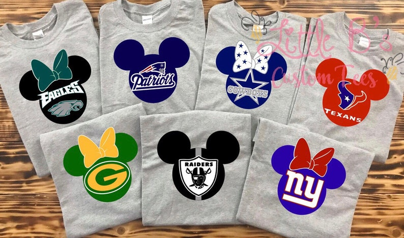 87fd693a Football Mickey Shirt | Disney Football shirts | Disney Shirts | Matching  Disney Family Shirts | Football Shirts | Disney World | Disneyland